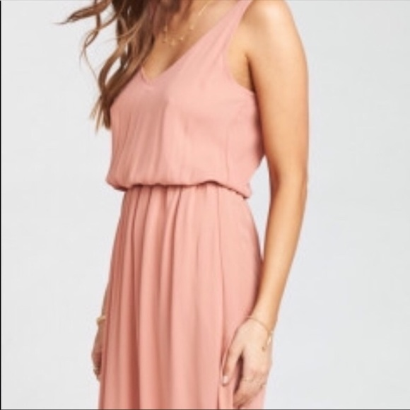 Show Me Your MuMu Kendall Maxi Dress Rustic Mauve